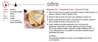 recette pâte à crêpe au companion moulinex mes meilleures