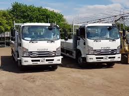100 240 Truck Isuzu UK On Twitter The First F135s On The Road