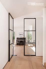 stahl glas türen stahl loft türen glastür wohnzimmer