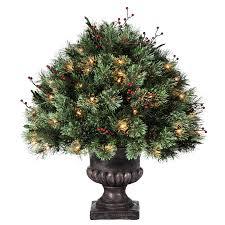Holiday Living 2ft IndoorOutdoor Single Ball Topiary PreLit