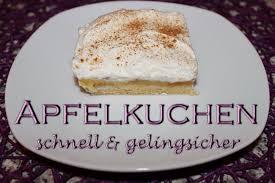 einfacher schneller apfelkuchen mit pudding als blechkuchen oder für die springform