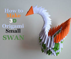 Modular 3D Origami Swan 18 Steps With Pictures