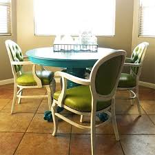 Paint Dining Table And Chairs With Rust Oleum Satin Lagoon