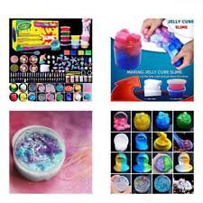 Unicorn Slime Putty Toys DIY Kit Supplies 6 Cloud Slime6 Clear