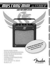 Fender Mustang Floor Manual by Fender Mustang Mini Manual