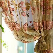 Sheer Curtain Panels 96 Inches by Floral Embroidered Organza 96 Inch Sheer Curtain