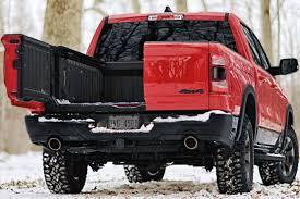100 Dodge Ram Trucks The Tailgate War Heats Up 2019 RAM Multifunction Tailgate GearJunkie