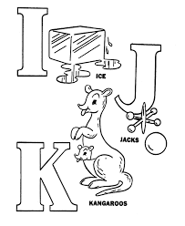 Alphabet Activity Sheets Pre K ABC Coloring Page