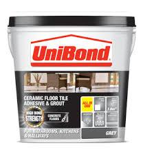 floor tile adhesive grout concrete floors unibond