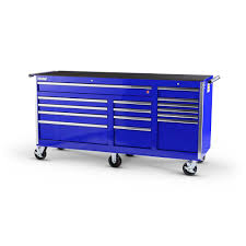 International Tech Series 75 In. 15-Drawer Roller Cabinet Tool Chest ...