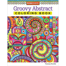 Design Originals Groovy Abstract Coloring Book