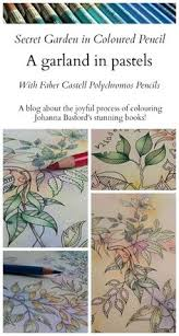 Passion For Pencils Colouring Secret Garden