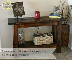 Console Table Design. How To Build Your Own Console Table: Build ... Pb Inspired Trunk Bedside Table Makeover Girl In The Garage Darby Entryway Bench Pottery Barn Samantha Diy 3d Wall Art This Is Our Bliss Best 25 Barn Inspired Ideas On Pinterest Woman Real Lifethe Of Everyday Kitchen Island By Diy Kitchen Island Coffe Fresh Coffee Home Decoration Clock Noel Sign Knock Off Christmas Mirror Knockoff Project