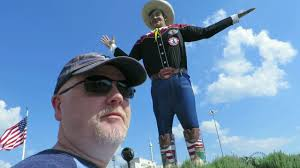Visiting Big Tex A Week Before The State Fair Of Texas Begins