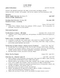 Sample Resume For College Graduate With No Experience Account Analyst Student