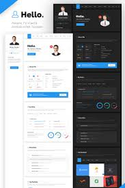 Hello Resume - CV, VCard & Portfolio HTML Template Website Template ... 70 Welldesigned Resume Examples For Your Inspiration Piktochart Innovative Graphic Design Cv And Portfolio Tips Just Creative Resumedojo Html Premium Theme By Themesdojo Job Word Template Vsual Diamond Resumecv 3 Piece 4 Color Cover Letter Ya Free Download 56 Career Picture 50 Spiring Resume Designs And What You Can Learn From Them Learn