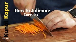 Learn How To Julienne