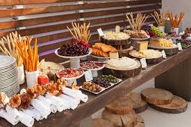 Rustic Buffet Table Food Ideas