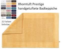 rhomtuft badezimmerteppich prestige badteppich rhomtuft textile träume