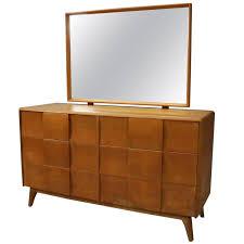 vintage heywood wakefield kohinoor yellow birch six drawer