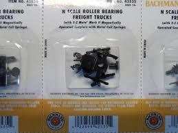 Bachmann N Roller Bearing Freight Trucks No Wheels 1pair Bac42535 | EBay