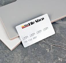 credit financing the tile shop