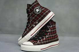 converse all plaid converse cheap discount shoes converse all plaid hi top