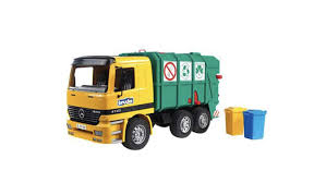Amazon.com: Bruder Recycling Truck By Bruder Toys: Toys & Games