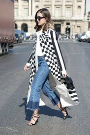 spring denim trends cropped flares are the must have jeans for
