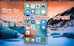 How to Record iPhone Screen with Mac OS X and QuickTime
