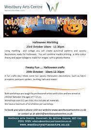 Westbury Gardens Halloween by Halloween Workshop Marbling Arts Gateway Mk
