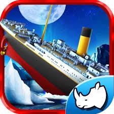 titanic iceberg escape historical ship parking 3d drive game on