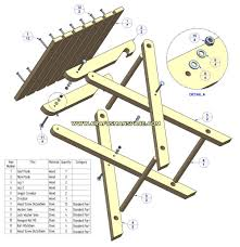 free folding picnic table plans google search projects