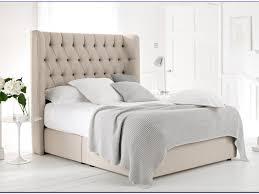 King Platform Bed With Tufted Headboard by Platform Bed King Size Upholstered Bed Frame Australia Black