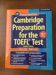 Feature Cambridge Toefl Book