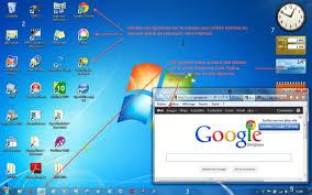 raccourci afficher bureau module 2 le système d exploitation windows 7 le bureau