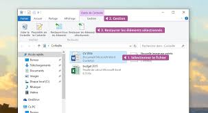 comment installer la corbeille sur le bureau corbeille windows cours informatique gratuit xyoos