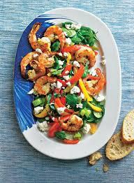 gambas mit paprika und spinat rezept lebensmittel essen