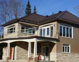 Decra Villa Tile Capri Clay by Prestige Metal Roof By Vicwest Shown In Dark Brown Www Vicwest