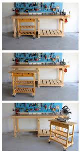 diy workbench u0026 ikea hack diy workbench ikea hack and ikea cart