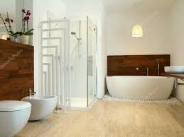 style bathroom with wood 49366419