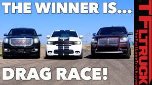 2018-lincoln-navigator-durango-srt-yukon-denali-drag-race - The Fast ... Spied 2018 Lincoln Navigator Test Mule Navigatorsuvtruckpearl White Color Stock Photo 35500593 Review 2011 The Truth About Cars 2019 Truck Picture Car 19972003 Fordlincoln Full Size And Suv Routine Maintenance Used Parts 2000 4x4 54l V8 4r100 Automatic Ford Expedition Fullsize Hybrid Suvs Coming Model Research In Souderton Pa Bergeys Auto Dealerships Tag Archive Lincoln Navigator Truck Black Label Edition Quick Take Central Florida Orlando
