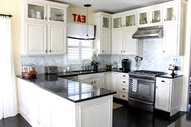 Full Size Of Appliances Amazing Black Kitchen Countertops In U Shape Cabinets Decor For Modern