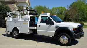 2008 FORD F-550 SERVICE UTILITY CRANE MECHANICS TRUCK WELDER FOR ...