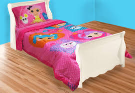 amazon com lalaloopsy twin bed comforter cute buttons blanket