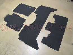 2009 2012 nissan pathfinder charcoal 3 row carpet floor mats oem