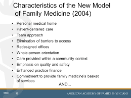 EHR Functionality and the Patient Centered Medical Home Charting