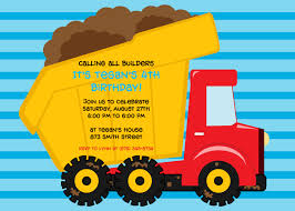 Dump Truck Birthday Party Invitations | DolanPedia Invitations Ideas Dump Truck Party Invitations Cimvitation Nealon Design Little Blue Truck Birthday Printable Little Boys Invites Monster Cloveranddotcom Fireman Template Best Collection Invitation Themes Blue Supplies As Blue Truck Invitation Little Cstruction Boy Vertaboxcom Bagvania Free