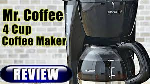Mr Coffee 4Cup Maker Review 2017