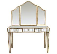 Drexel Heritage Dressing Table by Dylan Vanity And Delia Tri Fold Mirror From The Et Cetera